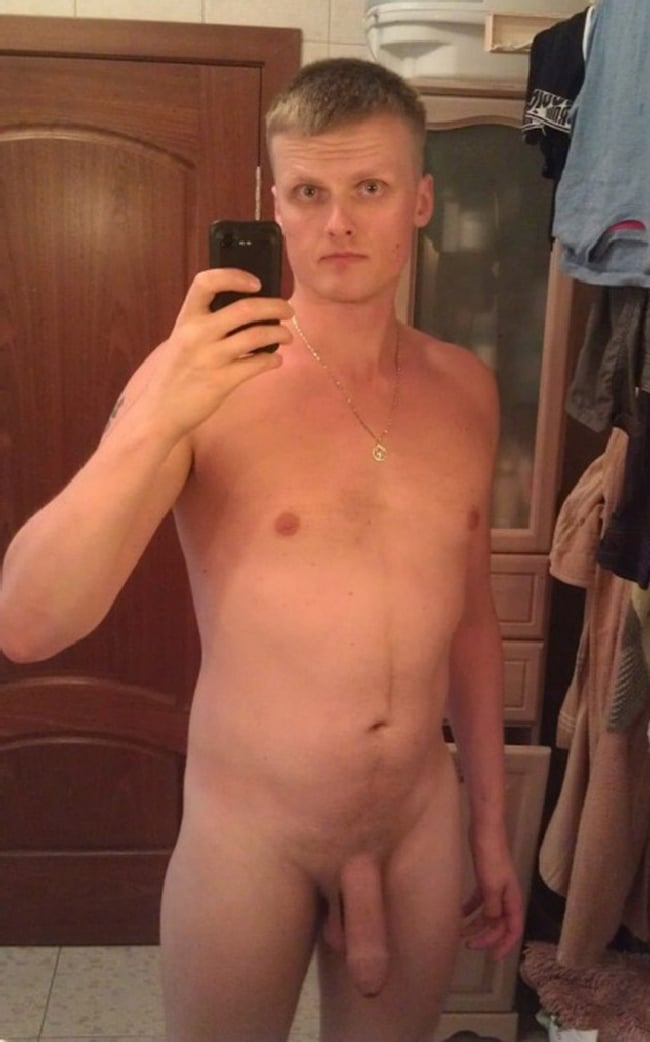 Nude Guy With Soft Dick