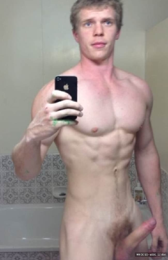 Pale Horny Hunk